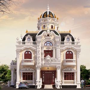 thiết kế kiến trúc biệt thự cổ điển